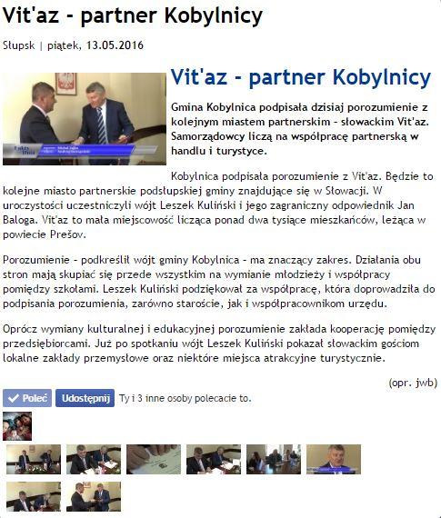 Vitaz - Kobylnica