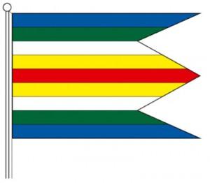Zástava obce Víťaz