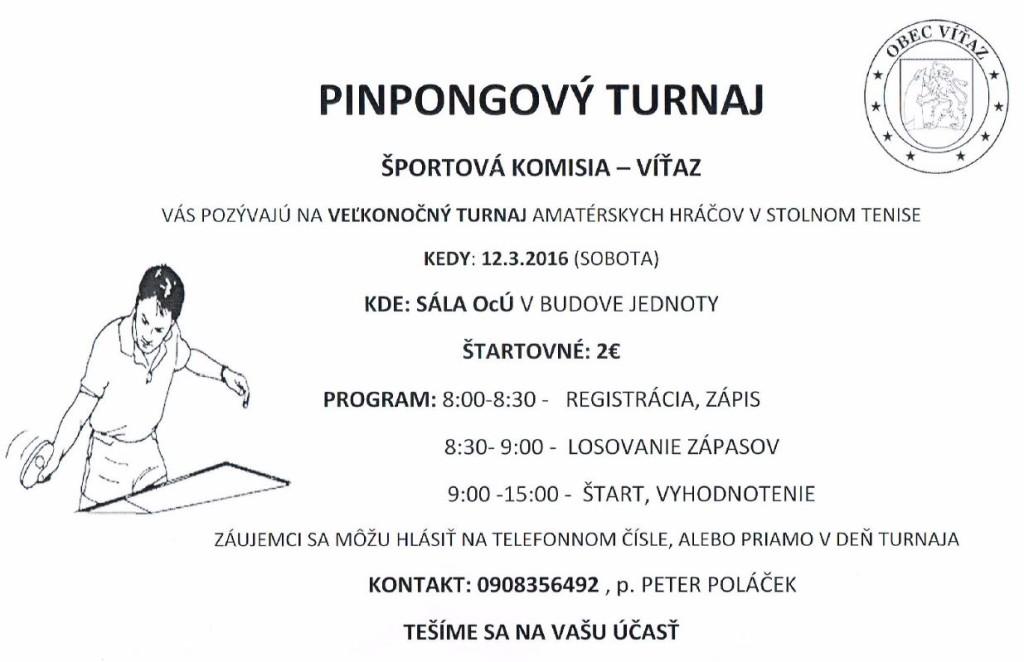 pingpongovy turnaj