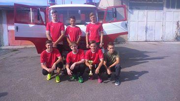 Strieborna medaila z hasičskej súťaže – Memoriál Emila Fottu