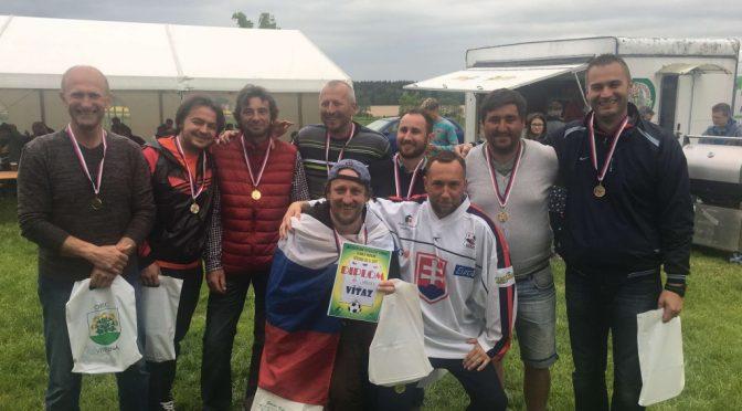 Minifutbalovy turnaj v obci Vítězná