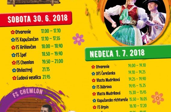 15. Kapušianske folklórne dni