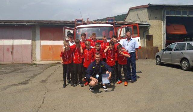 Družstvo žiakov sa zúčastnilo na súťaži v Radaticiach
